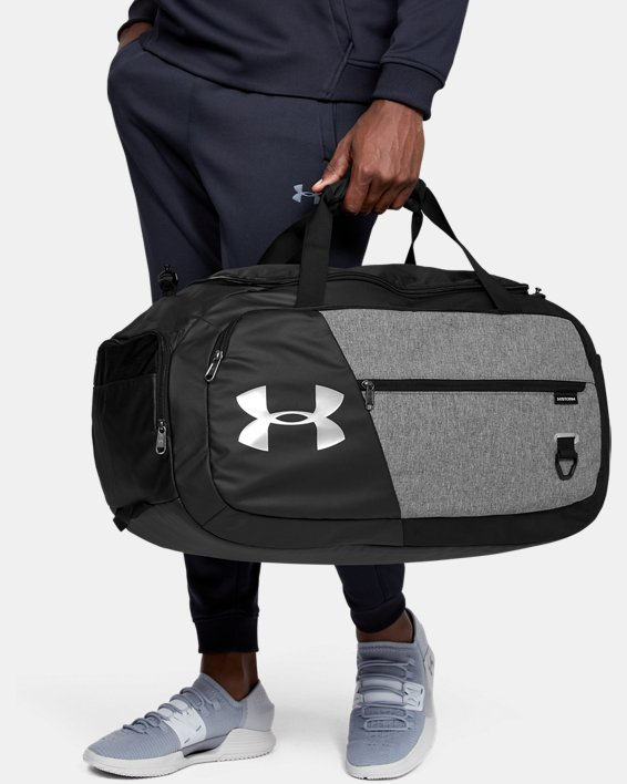 UA Undeniable Duffle 4.0 Medium Duffle Bag, Gray, pdpMainDesktop image number 0