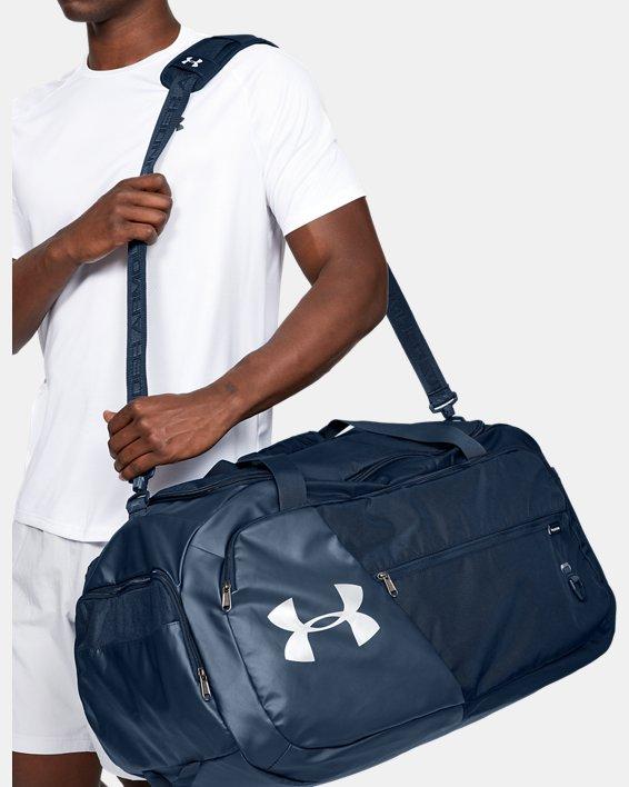 UA Undeniable 4.0 Large Duffle Bag, Navy, pdpMainDesktop image number 0