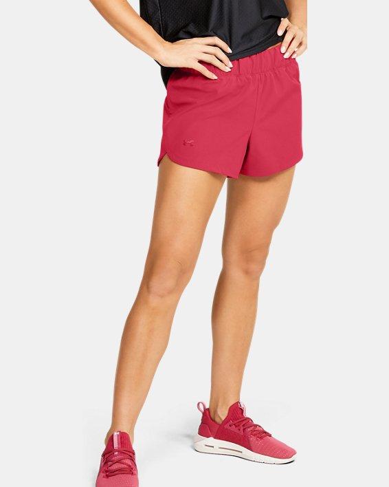 Women's UA Unstoppable Shorts, Pink, pdpMainDesktop image number 1