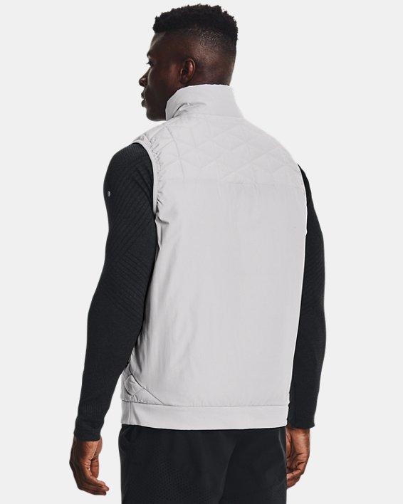 Men's ColdGear® Reactor Performance Vest, Gray, pdpMainDesktop image number 2