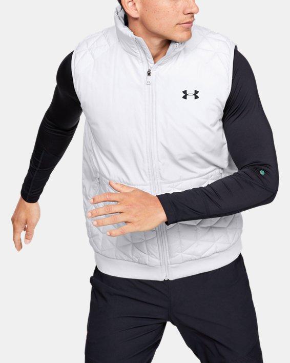Men's ColdGear® Reactor Performance Vest, Gray, pdpMainDesktop image number 0