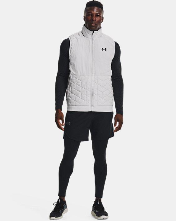 Men's ColdGear® Reactor Performance Vest, Gray, pdpMainDesktop image number 1