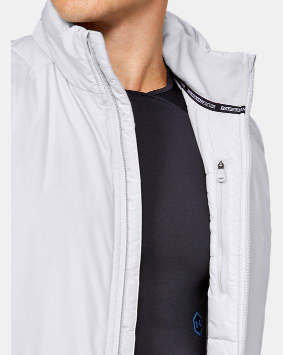 Men's ColdGear® Reactor Performance Vest, Gray, pdpMainDesktop image number 5