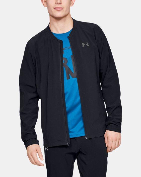 Men's UA Storm Launch 2.0 Jacket, Black, pdpMainDesktop image number 0