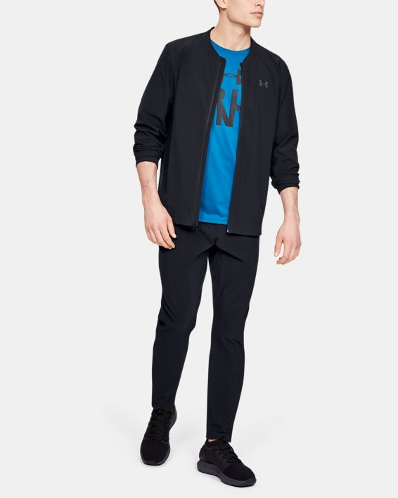 Men's UA Storm Launch 2.0 Jacket, Black, pdpMainDesktop image number 1