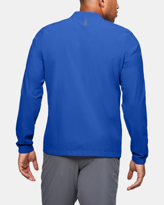 Men's UA Storm Launch 2.0 Jacket, Blue, pdpMainDesktop image number 2