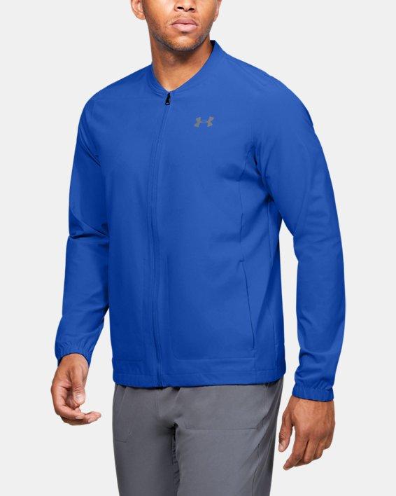 Men's UA Storm Launch 2.0 Jacket, Blue, pdpMainDesktop image number 0