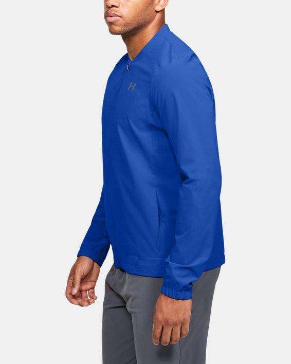 Men's UA Storm Launch 2.0 Jacket, Blue, pdpMainDesktop image number 3