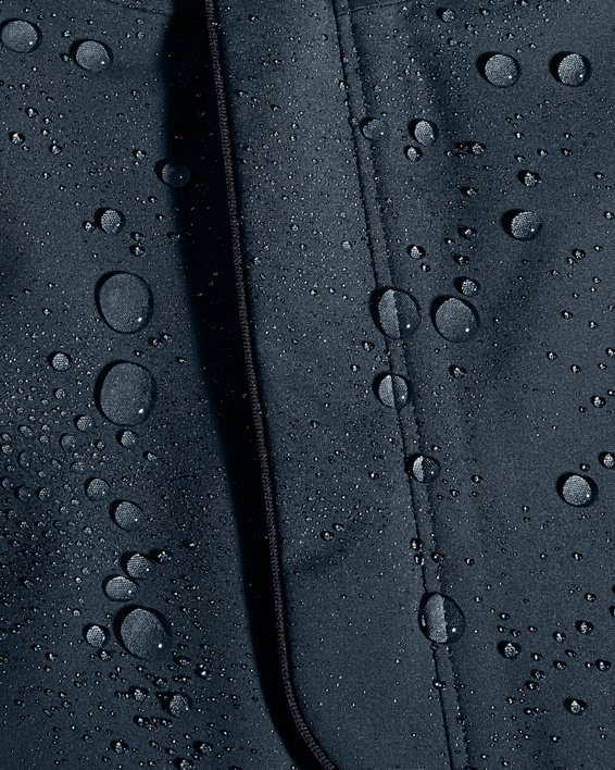 Men's UA Golf Rain Jacket, Black, pdpMainDesktop image number 6