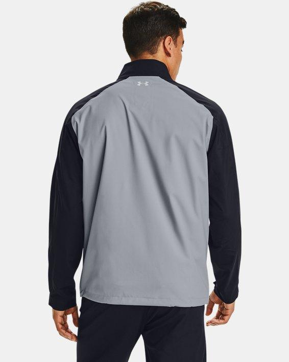 Herren UA Golf Regenjacke, Gray, pdpMainDesktop image number 2