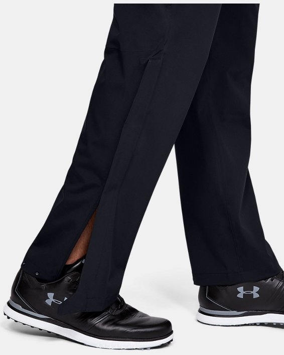 Pantalon imperméable UA Golf pour homme, Black, pdpMainDesktop image number 5