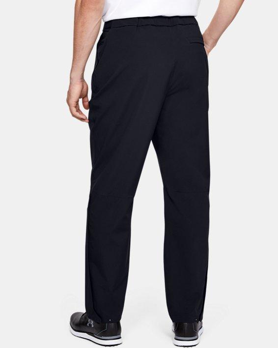 Men's UA Golf Rain Pants, Black, pdpMainDesktop image number 2