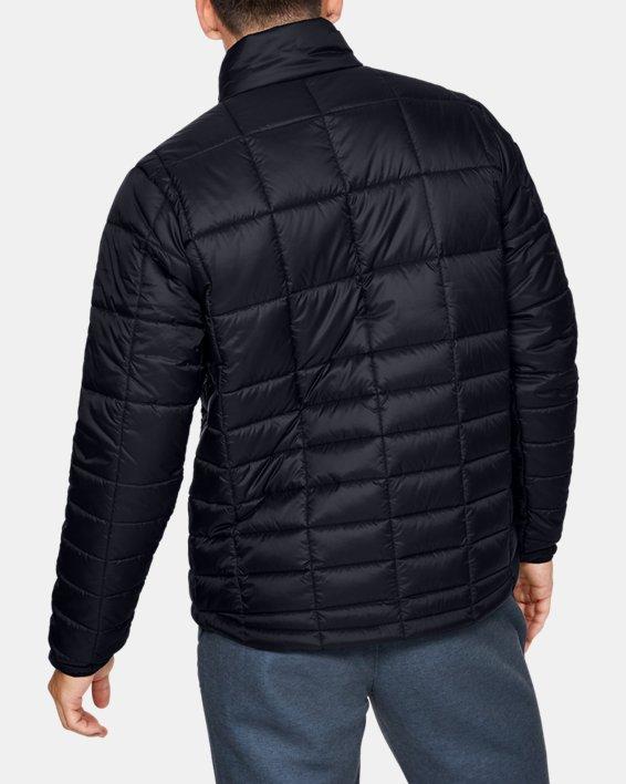 Men's UA Armour Insulated Jacket, Black, pdpMainDesktop image number 2