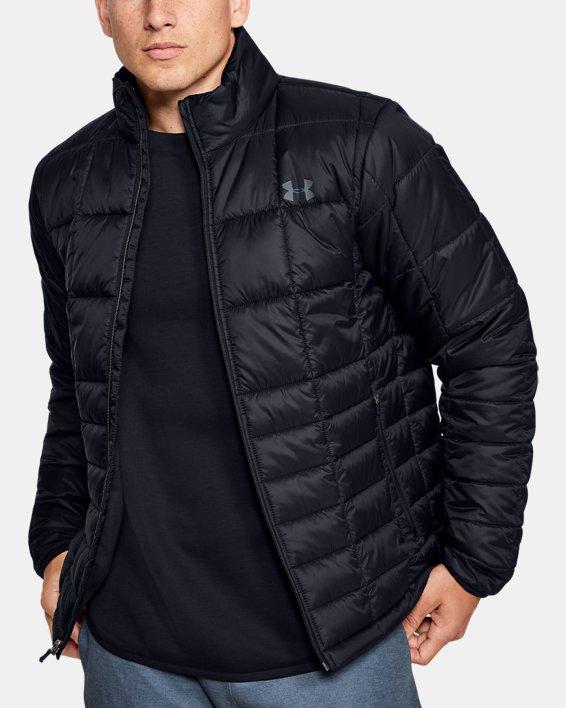 Men's UA Armour Insulated Jacket, Black, pdpMainDesktop image number 0