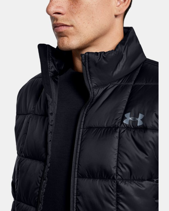 Men's UA Armour Insulated Jacket, Black, pdpMainDesktop image number 5