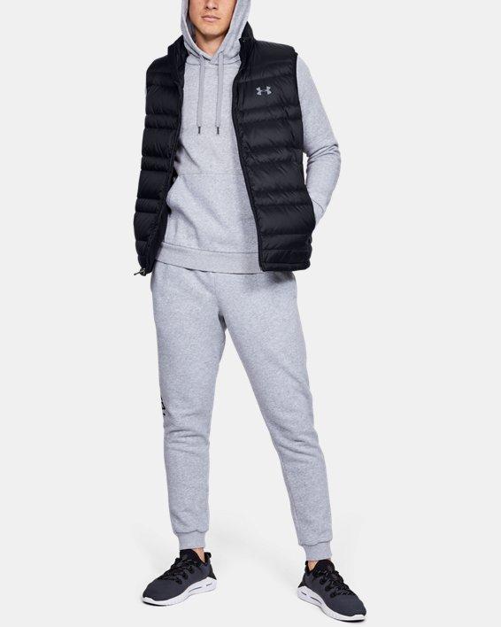 Men's UA Armour Down Vest, Black, pdpMainDesktop image number 0