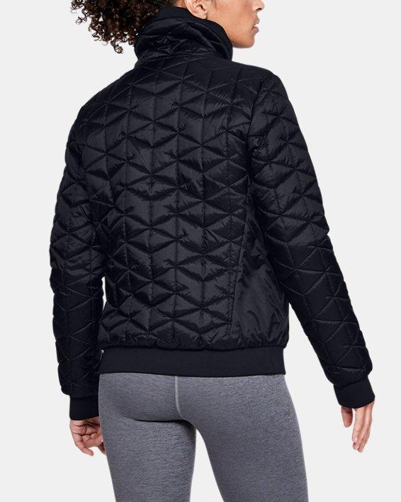 Women's ColdGear® Reactor Performance Jacket, Black, pdpMainDesktop image number 2