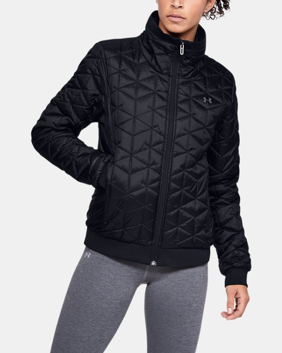 Women's ColdGear® Reactor Performance Jacket, Black, pdpMainDesktop image number 0
