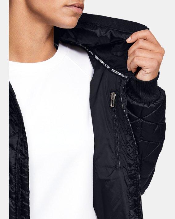 Women's ColdGear® Reactor Performance Jacket, Black, pdpMainDesktop image number 5