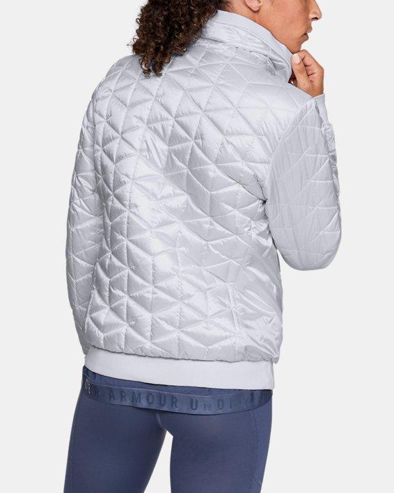 Women's ColdGear® Reactor Performance Jacket, White, pdpMainDesktop image number 2