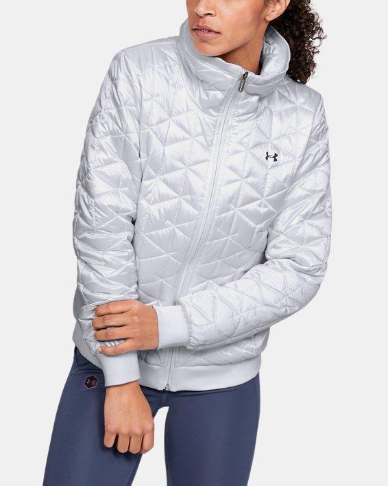 Women's ColdGear® Reactor Performance Jacket, White, pdpMainDesktop image number 0