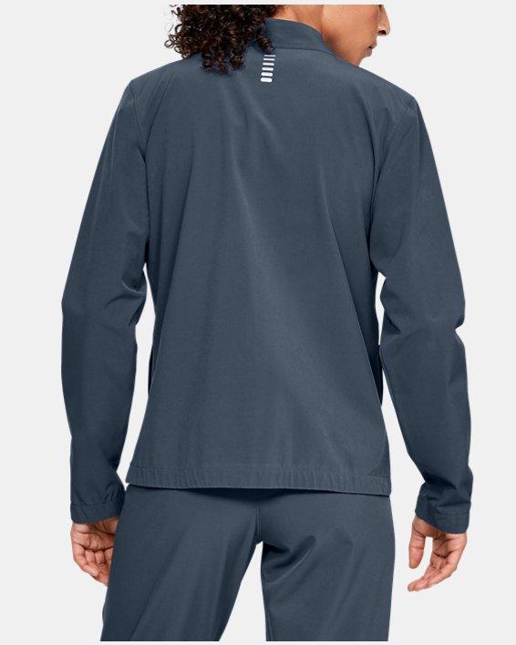 Women's UA Storm Launch Linked Up Jacket, Gray, pdpMainDesktop image number 2