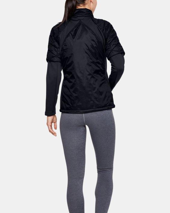 Women's ColdGear® Reactor Golf Hybrid Jacket, Black, pdpMainDesktop image number 3