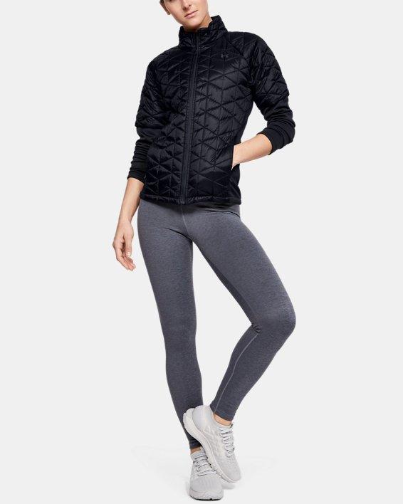 Women's ColdGear® Reactor Golf Hybrid Jacket, Black, pdpMainDesktop image number 1