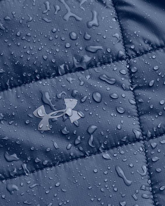 Women's UA Armour Insulated Jacket, Blue, pdpMainDesktop image number 6