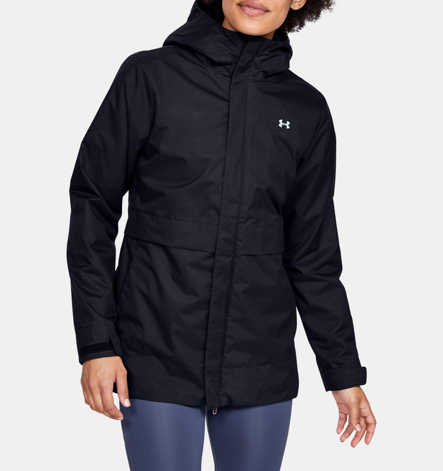 Women's UA Armour 3-in-1 Jacket, Black, pdpZoomDesktop image number 0