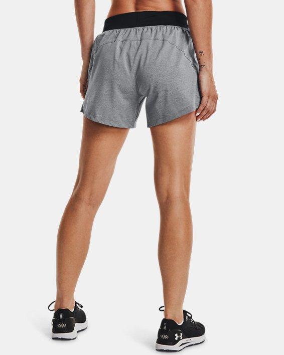 Women's UA Launch SW ''Go Long'' Shorts, Black, pdpMainDesktop image number 3