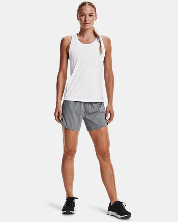 Women's UA Launch SW ''Go Long'' Shorts, Black, pdpMainDesktop image number 1