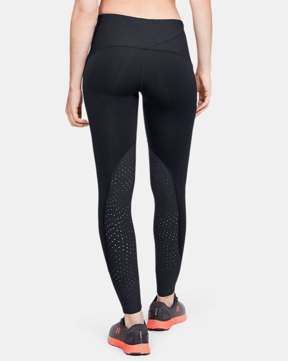 Women's UA Qualifier Speedpocket ColdGear® Tights, Black, pdpMainDesktop image number 2