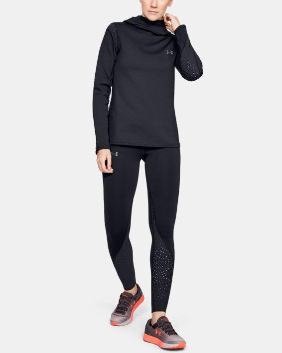 Women's UA Qualifier Speedpocket ColdGear® Tights, Black, pdpMainDesktop image number 0