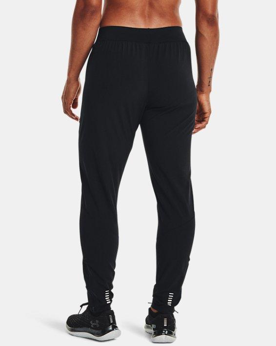 Women's UA Storm Launch Pants, Black, pdpMainDesktop image number 2