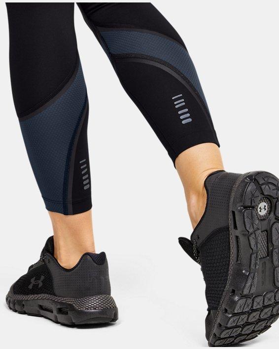Women's UA RUSH™ ColdGear® Run Tights, Black, pdpMainDesktop image number 5