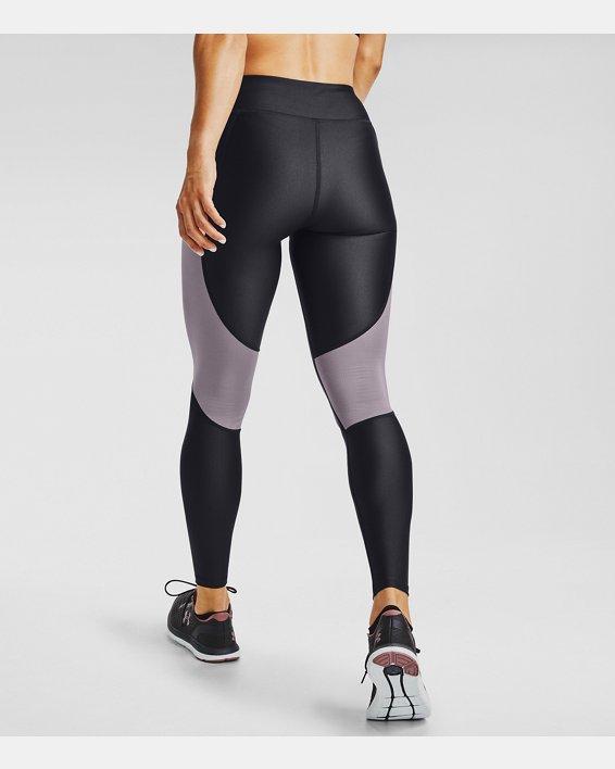 Women's UA Speed Stride Tights, Purple, pdpMainDesktop image number 2