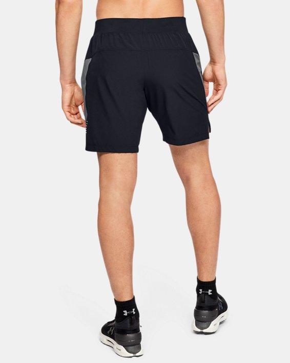 Men's UA Speedpocket Linerless 9'' Shorts, Black, pdpMainDesktop image number 2