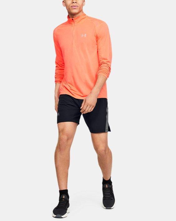 Men's UA Speedpocket Linerless 9'' Shorts, Black, pdpMainDesktop image number 1