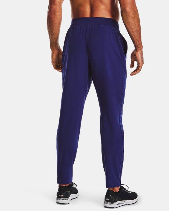 Men's UA Storm Launch 2.0 Pants, Blue, pdpMainDesktop image number 2