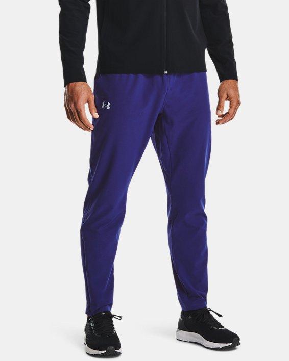 Men's UA Storm Launch 2.0 Pants, Blue, pdpMainDesktop image number 1