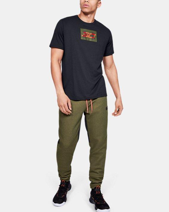 Men's SC30 Overlay Short Sleeve T-Shirt, Black, pdpMainDesktop image number 1