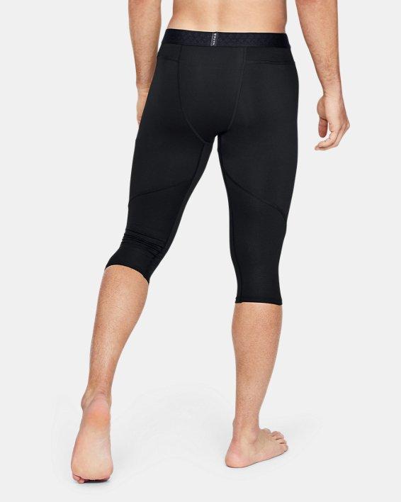 Collants longueur genou UA RUSH™ Select pour homme, Black, pdpMainDesktop image number 2