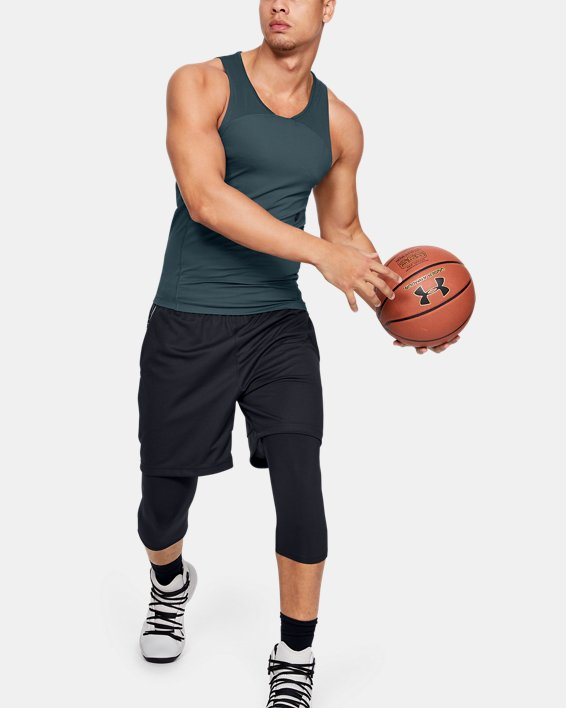 Men's UA RUSH™ Select Tank, Gray, pdpMainDesktop image number 0