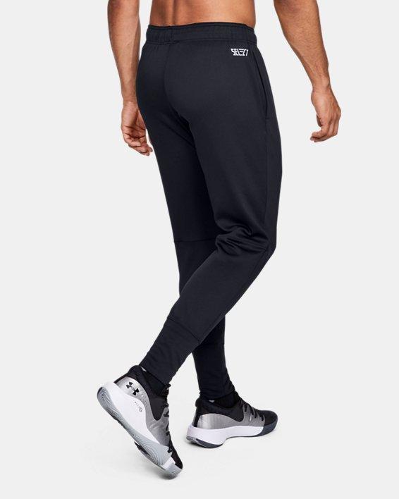 Men's UA Select Warm-Up Pants, Black, pdpMainDesktop image number 2
