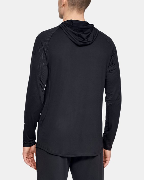 Men's UA Select Long Sleeve Shooting Shirt, Black, pdpMainDesktop image number 2
