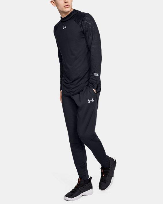 Men's UA Select Long Sleeve Shooting Shirt, Black, pdpMainDesktop image number 0