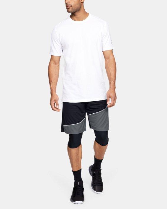 """Men's UA Baseline 10"""" Shorts, Black, pdpMainDesktop image number 1"""