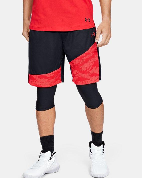 """Men's UA Baseline 10"""" Shorts, Black, pdpMainDesktop image number 0"""