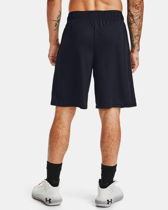 """Men's UA Baseline 10"""" Shorts, Black, pdpMainDesktop image number 2"""